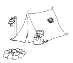 camping tent patch